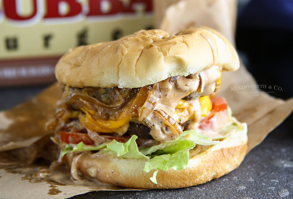 Best Burger Sauce on a Double Caramelized Onion Burger ...