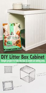 DIY Litter Box Cabinet