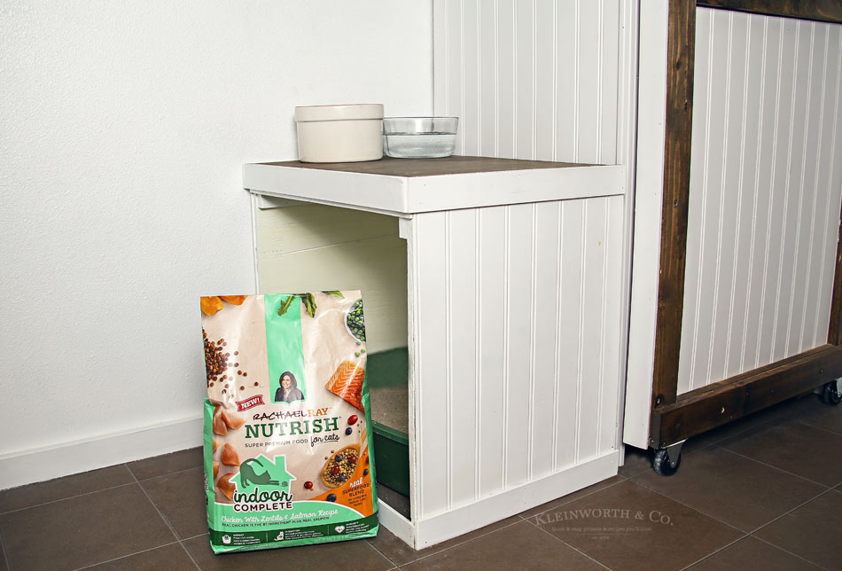 diy litter box cabinet - kleinworth & co