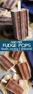 Dairy-Free Fudge Pops