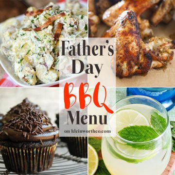 Fathers Day BBQ Menu Plan