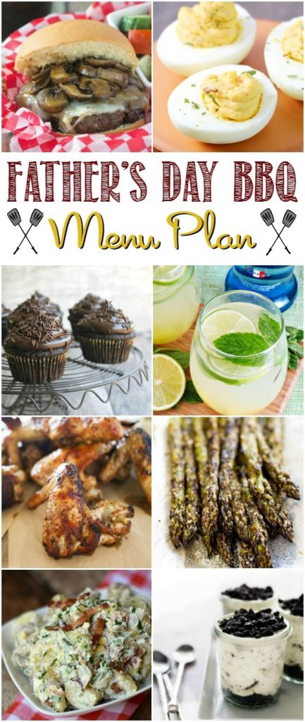Fathers Day BBQ Menu Plan