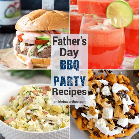 Fathers Day BBQ Party Recipes
