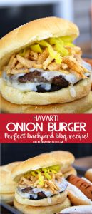 Havarti Onion Burger Recipe