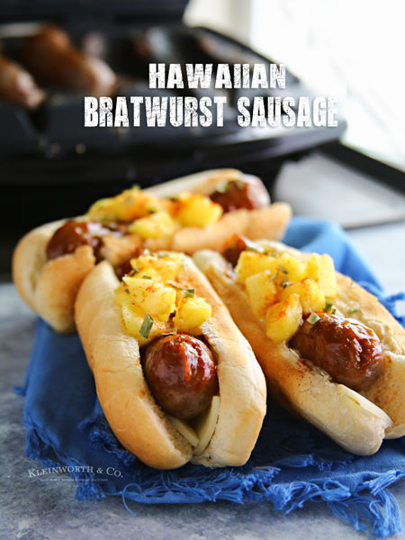 Hawaiian Bratwurst Sausage Recipe
