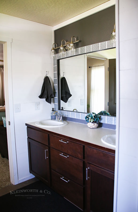 Master Bath Mini Budget Makeover