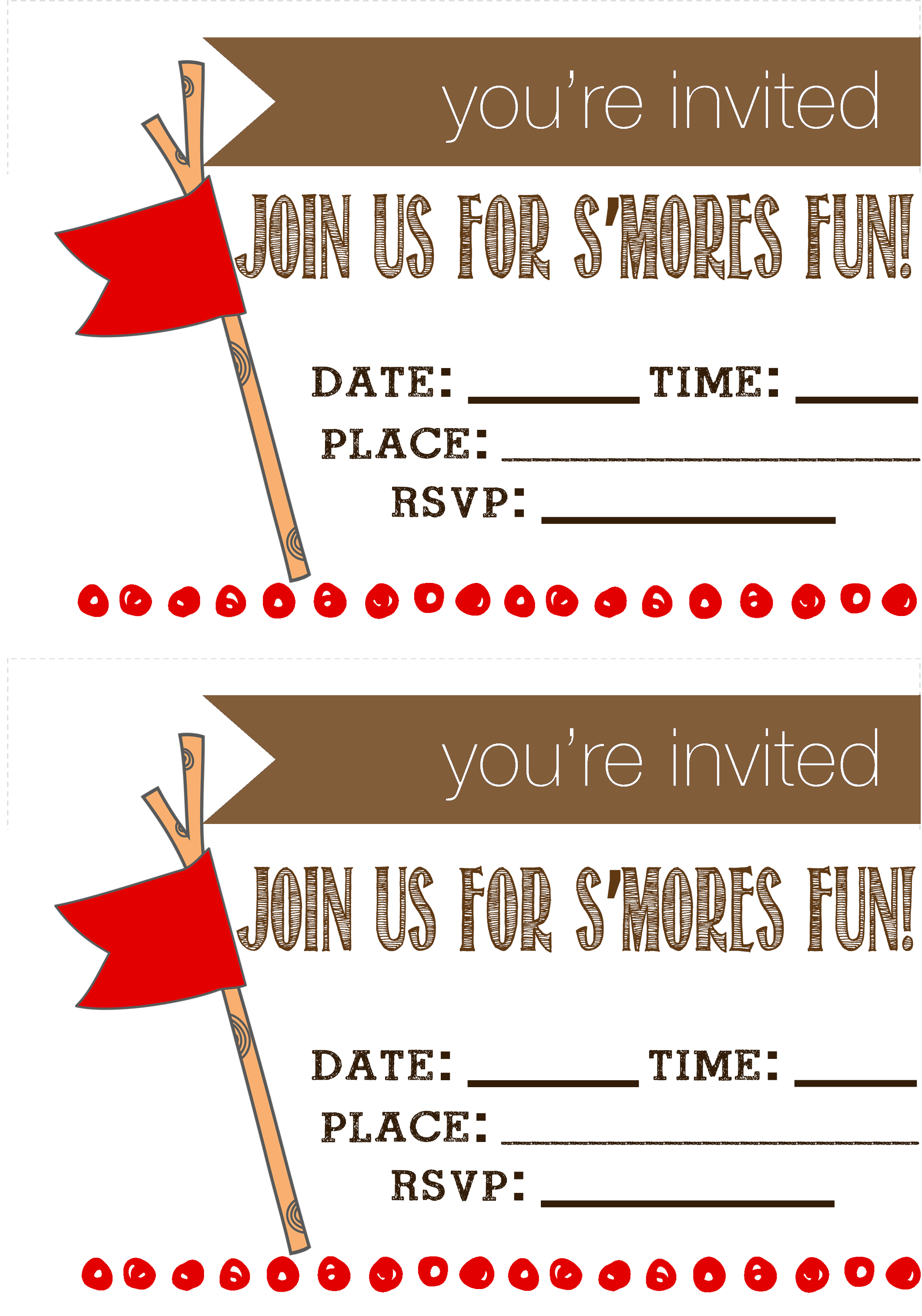 Download Your Invitations Here To Make Fourth Of July Party Awesome