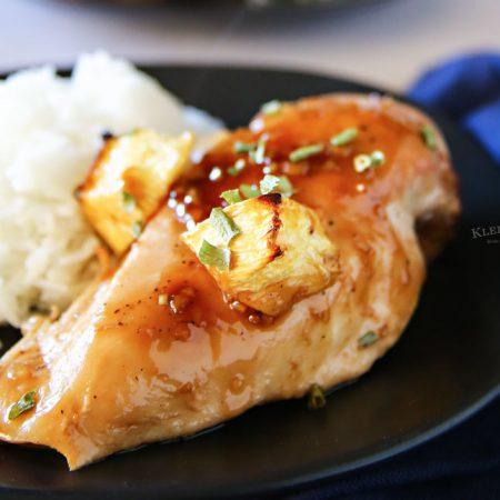 Teriyaki Chicken Bake