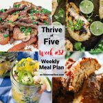 Thrive at Five Meal Plan Week 32