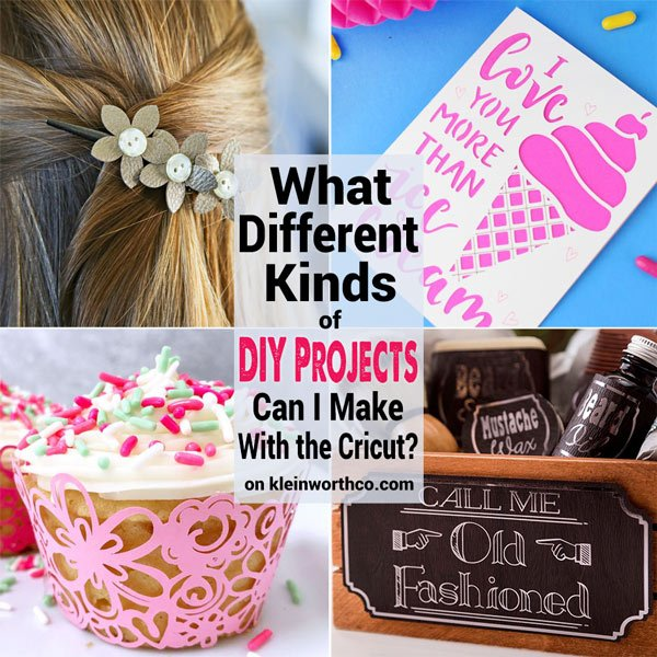 Materials You Can Cut With Cricut Kleinworth Amp Co