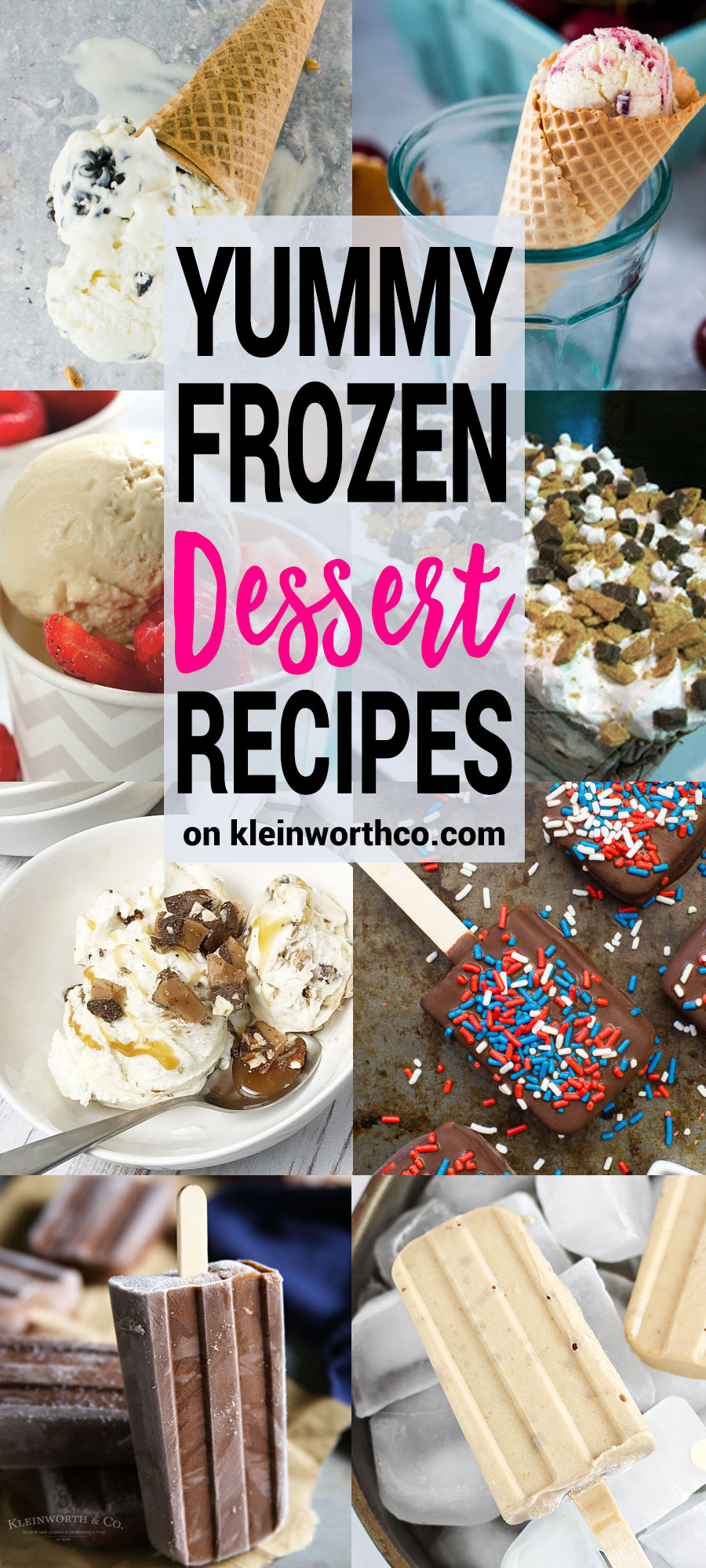 Yummy Frozen Dessert Recipes