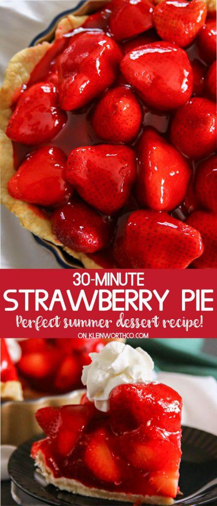 30-Minute Strawberry Pie