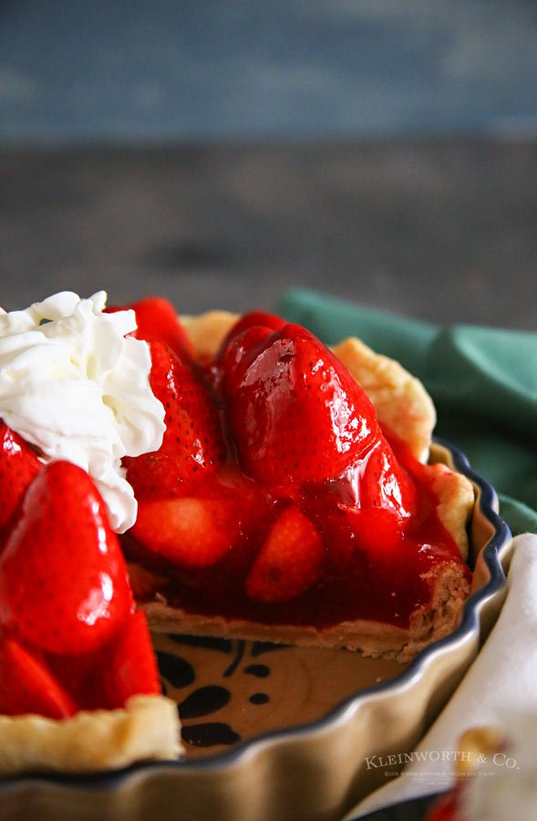 Dessert Recipe - Strawberry Pie Recipe