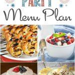 4th of July Menu Plan