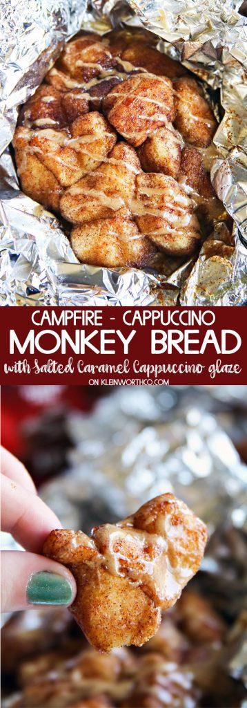 Campfire Cappuccino Monkey Bread