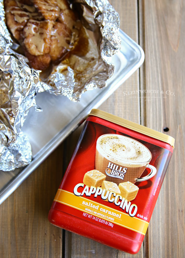 Secret Ingredient for Campfire Cappuccino Monkey Bread