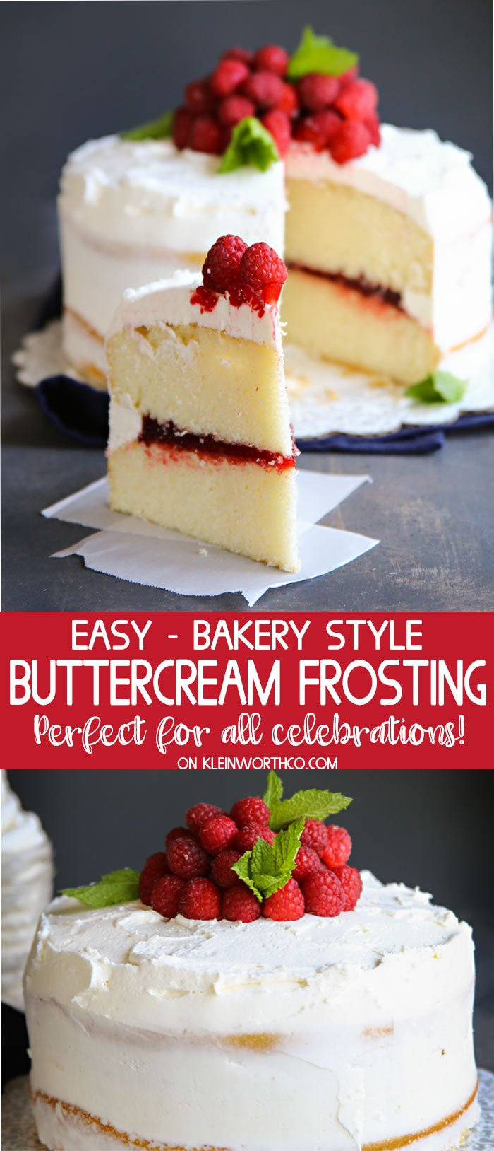 Best Bakery Buttercream Frosting