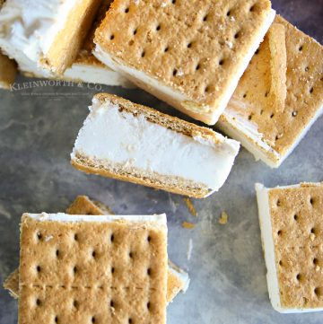 Recipe for Easy Skinny Ice Cream Sandwiches