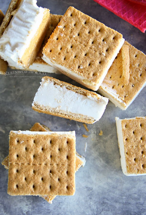 Recipe for Easy Skinny Ice Cream Sandwiches