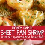 Honey Garlic Sheet Pan Shrimp