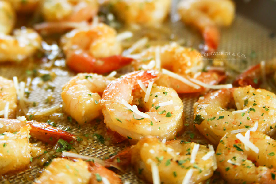 Honey Garlic Sheet Pan Shrimp recipe