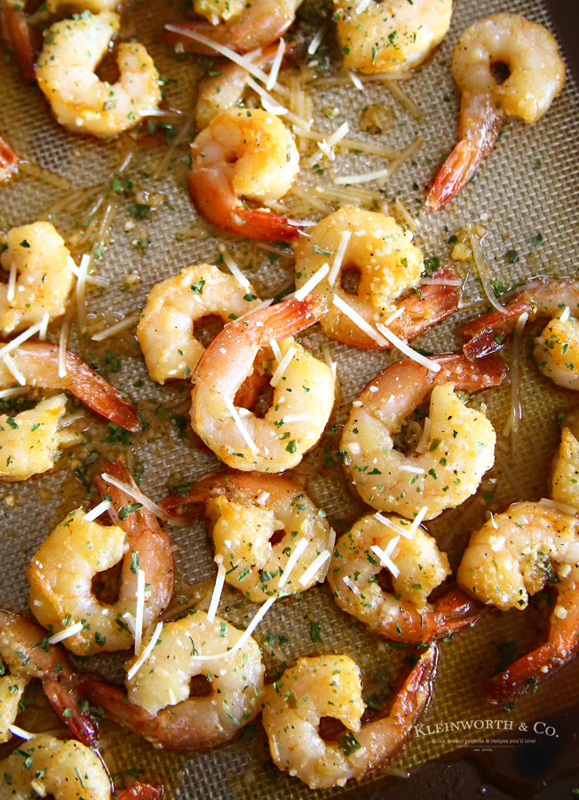How to make Honey Garlic Sheet Pan Shrimp