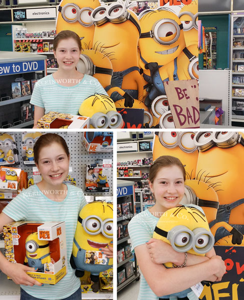 Shopping for Despicable Me 3 Minion Cupcakes