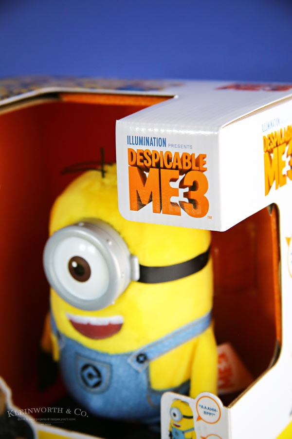 Movie Despicable Me 3 Minion Cupcakes