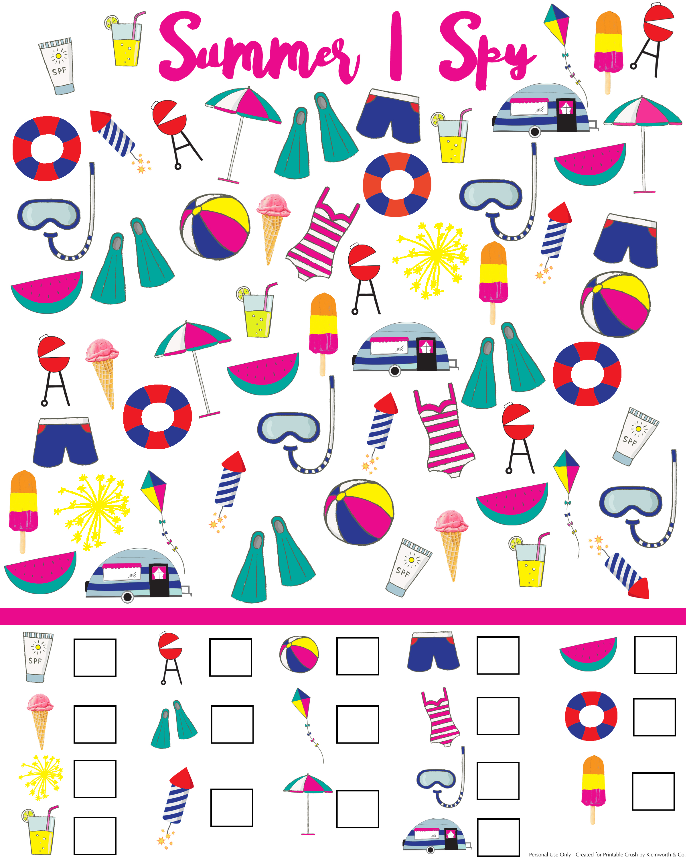 image about I Spy Printable identify Summer season I Spy Printable - Kleinworth Co
