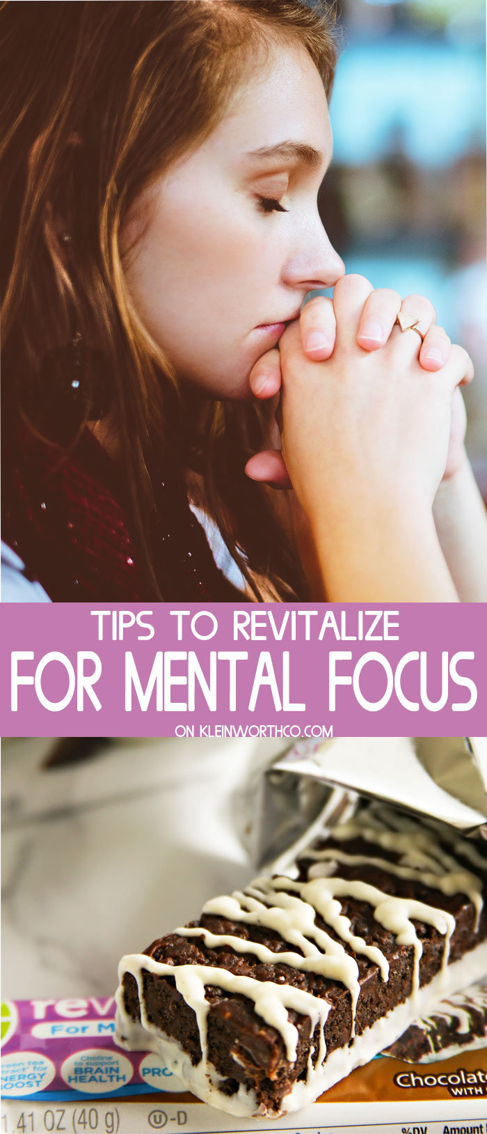 Tips to Revitalize for Mental Focus