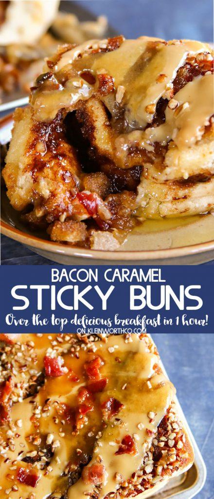 Bacon Caramel Sticky Buns Recipe