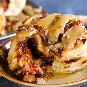 Bacon Caramel Sticky Buns Recipe