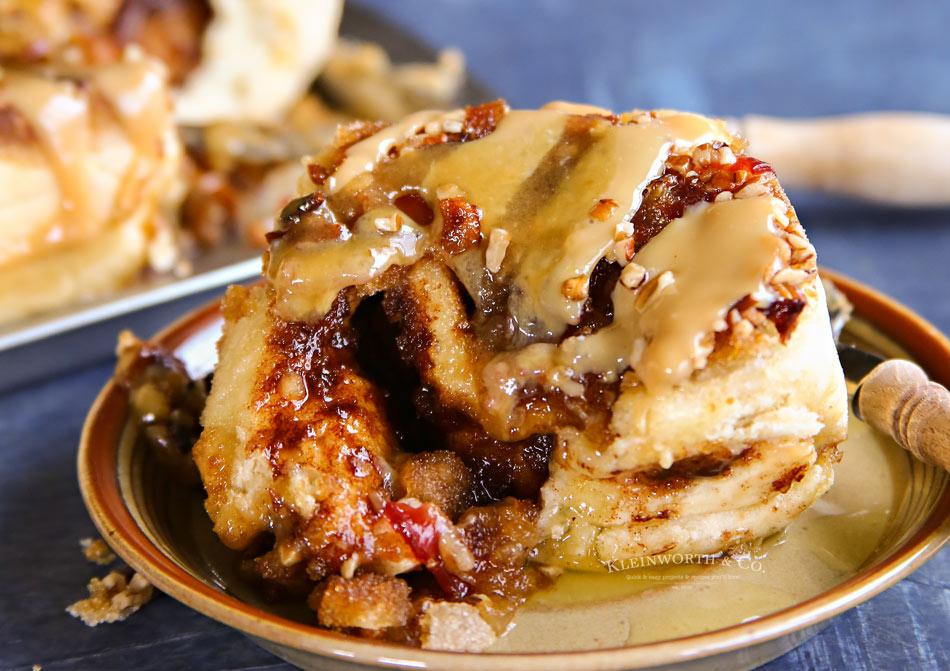 Bacon Caramel Sticky Buns Recipe - Kleinworth & Co