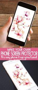 DIY Phone Screen Protector