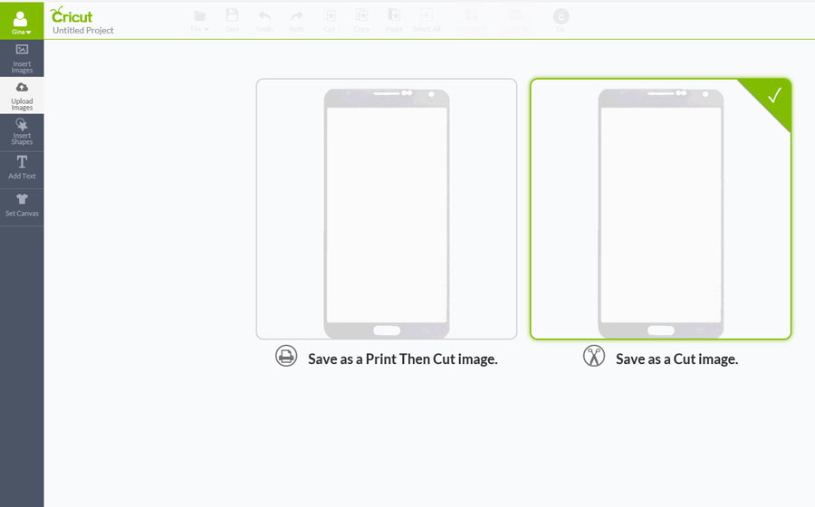 DIY Phone Screen Protector - save as a cut