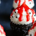 Spooky Ghoulish Monster Halloween Cupcakes