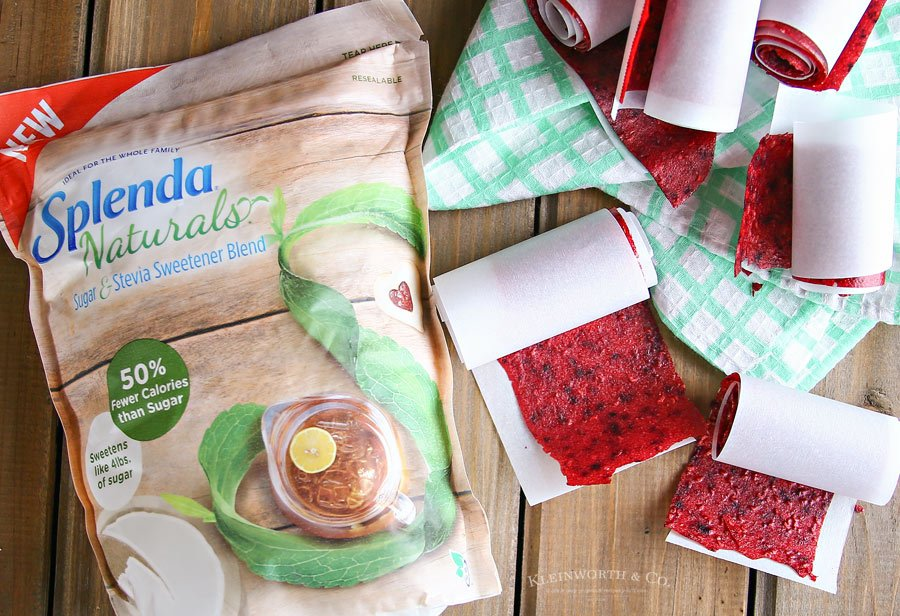 Mixed Berry Fruit Leather snacks