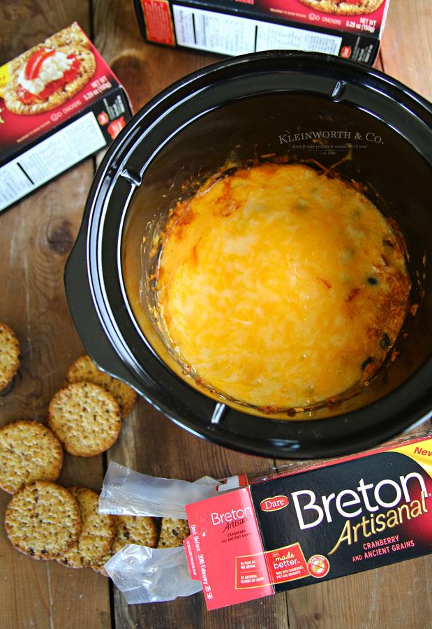 Slow Cooker Fiesta Cheese Dip simple & easy recipe