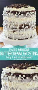 Swiss Meringue Buttercream Frosting