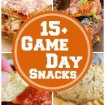 15 Game Day Tailgating Snacks