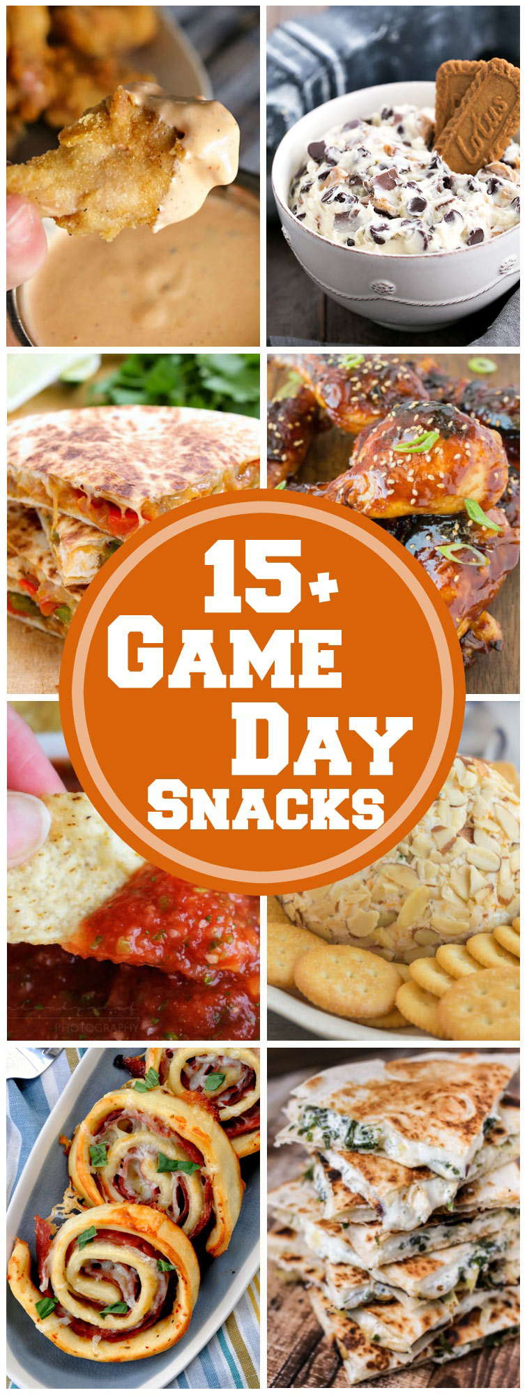 15 Game Day Tailgating Snacks