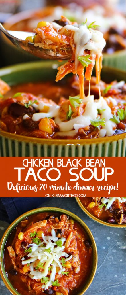 How to make Chicken Black Bean Taco Soup