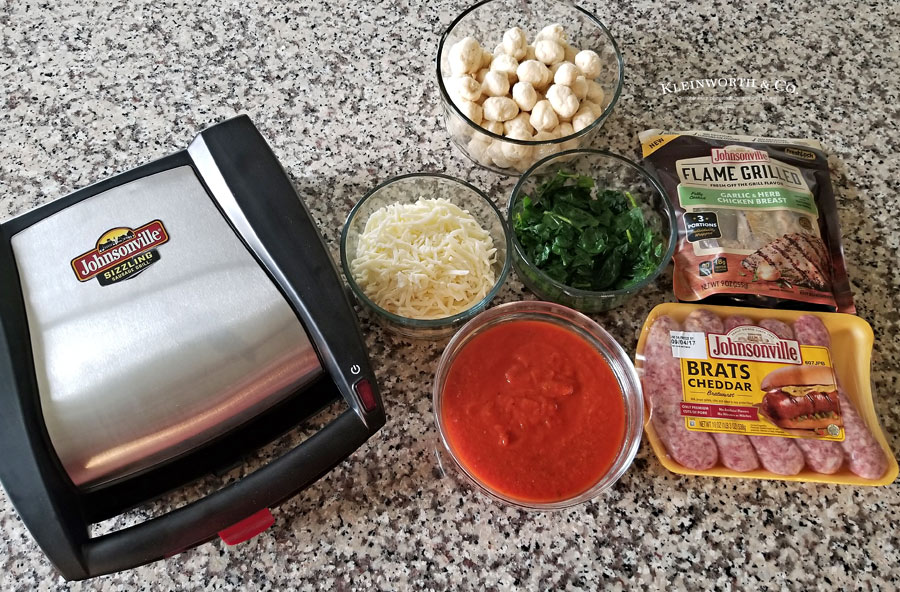 Chicken Spinach & Sausage Bubble Up ingredients