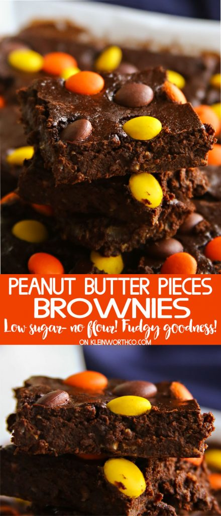 Peanut Butter Pieces Brownies