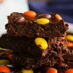 Peanut Butter Pieces Brownies low sugar
