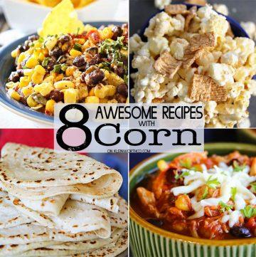 8 Awesome Corn Recipes &  Iowa Corn Quest 2017 Recap