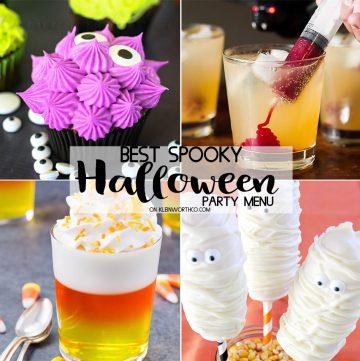 Best Spooky Halloween Party Menu