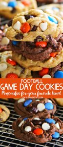 Best Football Game Day Cookies