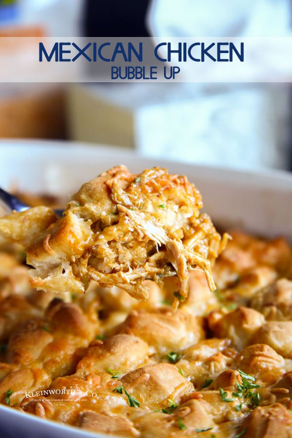 Mexican Chicken Bubble Up Casserole