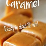 Best Homemade Caramel RECIPE